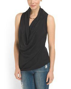 image of Silk Quinn Sleeveless Top