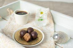 Gluteenittomat piparitryffelit on helppo tehdä ilman valkoista sokeria.
