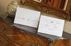 Envelope e cartão com elementos únicos e personalizados.