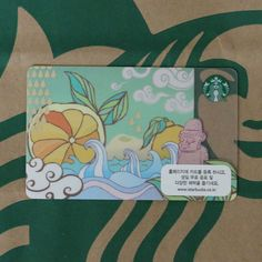 Starbucks Card Korea Limited Edition Jeju Island Gift Card 2013 Coffee Card #Starbucks