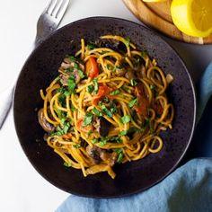 One-Pot Tomato & Mushroom Pasta