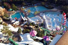 Blizzard Beach is one of two water parks in the Walt Disney World Resort. It is snow themed and features slides and rides for the whole family, as well as one of the world's tallest and fastest free-falling waterslides.