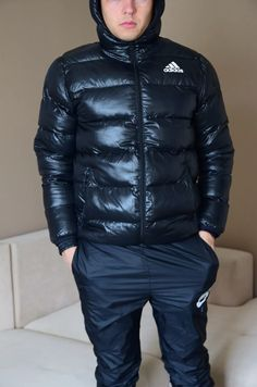 Puffer Jackets, Winter Jackets, Pvc Raincoat, Stylish Mens Outfits, Joggers, Cabbage, Overalls, Adidas, Guys