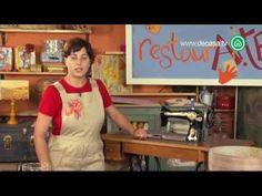 Restaur-arte Cómo restaurar una máquina de coser antigua - YouTube