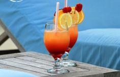 Cocktails - Orange Cocktail, Cocktail, Orange Drink, Blue, Drink, Cocktail Drink