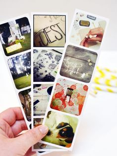 DIY instagram photo strips & ideas on how to use them. {smitten on paper}