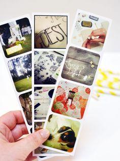 DIY instagram photo strips
