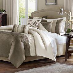 Madison Park Amherst 7 Piece Comforter Set & Reviews | Wayfair