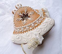 Dekorácie - Zvonček - biele zdobenie - 5940483_