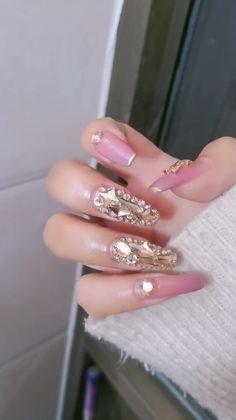 ✔ Nail Acrylic Videos Pretty #coffinnails #nails #longnails