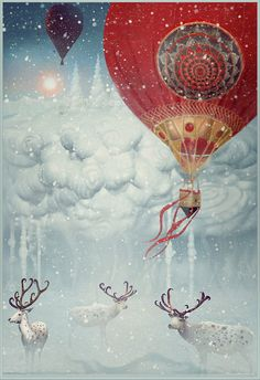 Magical illustration by tatiana kazakova