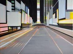 "Saatchi Online Artist Cécile van Hanja; Painting, ""Trans chaos"" #art"