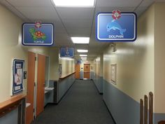 Teacher Sign, School Hallway Signs...Here are just a few of my newest signs that I designed for a custom job in a pre-school with a nautical theme in their hallways. Customers love them and are already ordering more for the other floors!