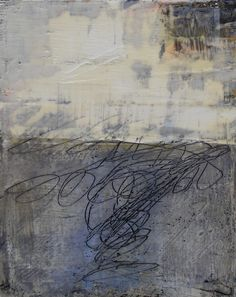Scratching into wax. Rebecca Crowell