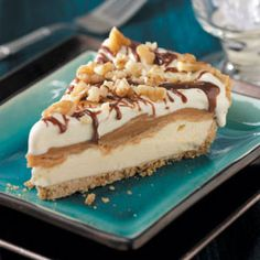 Freezer Peanut Butter Pie Recipe. Omg this must be what heaven is like!!!!