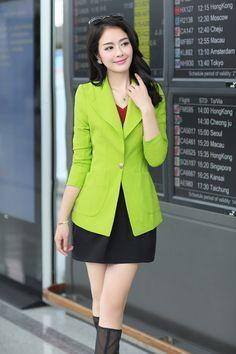 2014 Fall Korean Blazer Jacket YRB0279