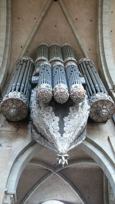 The swallow's nest organ in the Cathedral, Trier Germany