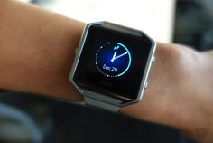 Fitbits new fitness watch looks slightly better in person  Yesterday Fitbit announcedBlaze a new smart fitness watch that tracks a bunch of different activities.And the immediate reaction to the watch was mixed.  Some of our Verge readers andTwitter followers said it looked way too big. Others saw it as an attempt to compete with Apple Watch. Investors didnt love it either; the companys stock nosedived after the announcement.  We got some hands on time with the Blaze today at CES and got a…