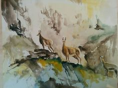 Watercolor, Colour, Painting, Art, Pen And Wash, Color, Art Background, Watercolor Painting, Painting Art