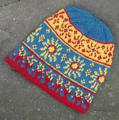 Ravelry: Solstice Flame pattern by Erssie Major