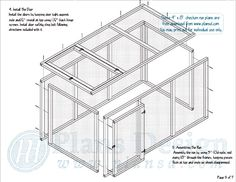 Building A DIY Chicken Coop If you've never had a flock of chickens and are considering it, then you might actually enjoy the process. It can be a lot of fun to raise chickens but good planning ahead of building your chicken coop w Large Chicken Coop Plans, Chicken Coop Blueprints, Chicken Coop Run, Portable Chicken Coop, Chicken Life, Chicken Coop Designs, Backyard Chicken Coops, Building A Chicken Coop, Chicken Runs