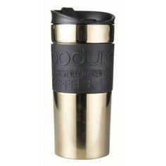 Bodum Travel Mug, Travel Mugs, Coffee Shop, Coffee Mugs, Best Travel Coffee Mug, Vacuum Flask, Stainless Steel Travel Mug, Kenya, Cool Kitchens