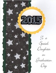 Miriams designs handmade greeting card personalized happy miriams designs handmade greeting card to a special daughter on graduation day miriamsdesigns miriamscards m4hsunfo Images