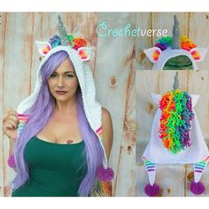 http://www.ravelry.com/patterns/library/order-of-the-unicorn-hood