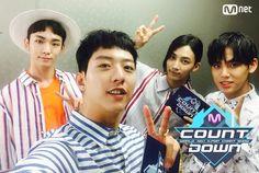 160721 #mcountdown #key #kimkibum #shinee #Jungshin #seventeen