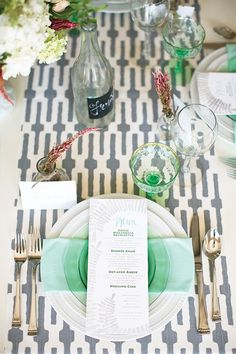 @Marsha Martinez @Jill Roberts i'm into the idea of plain white tablecloth with a cool runner. i think that'll be the answer to things.