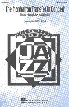 THE MANHATTAN TRANSFER IN CONCERT - MUSIKNOTE FÜR JAZZ BAND - 1982 | eBay