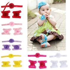 The Best 3pcs Newborn Headband Ribbon Elastic Baby Headdress Kids Hair Band Girl Bow Knot Good Companions For Children As Well As Adults Baby Accessories Clothing, Shoes & Accessories