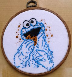 Sesame Street | 21 Needlepoints Inspired By Pop Culture