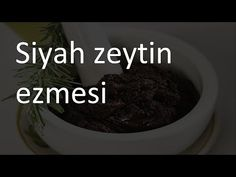 Siyah zeytin ezmesi tarifi Videolu Tarif Desserts, Food, Tailgate Desserts, Deserts, Essen, Postres, Meals, Dessert, Yemek