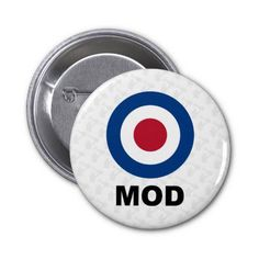 Mod Target Badge by Mark Murphy Creative