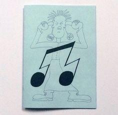 Fragile Jazz zine by Jeffrey Kriksciun, via Nieves