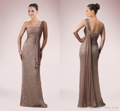 Wholesale Beaded Mother Of Dress - Buy Sexy Strapless Neckline Mother Of Bride Dresses 2015 Sheath Slim Beaded Groom Dress Floor Length Formal Evening Prom Brown Party Gowns Gown, $128.68 | DHgate.com