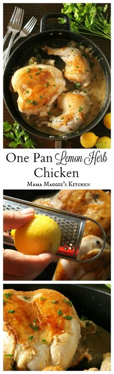 One Pan Lemon Herb C