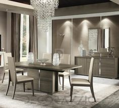 #dining_room #table #furniture #interior #design  комплект в столовую Alf Italia Tivoli, tivoli-set-1
