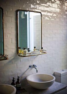 Speil til bad