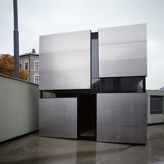 Boxhome is a small, residential project in Oslo by Norwegian architects Rintala Eggertsson.