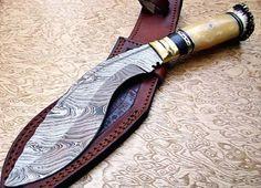 You're not bulletproof..., Custom Damascus Kukri