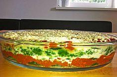 Zucchini - Lasagne, auch vegetarisch