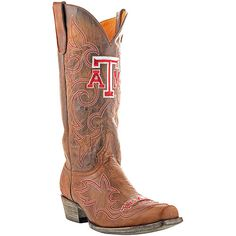Large Selection of College Logo Cowboy Boots