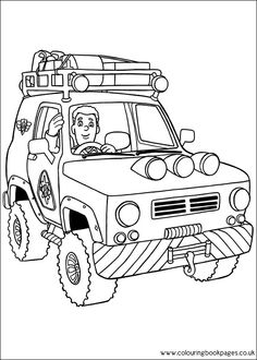 75 Fireman Sam printable coloring pages for kids. Find on coloring-book thousands of coloring pages. Online Coloring Pages, Printable Coloring Pages, Coloring Pages For Kids, Coloring Sheets, Adult Coloring, Coloring Books, Fireman Birthday, Fireman Sam