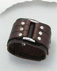 love this leather cuff...