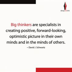 #Thinkings #ThoughtLeaders