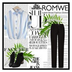 """Romwe contest"" by kiki-iil ❤ liked on Polyvore featuring Acne Studios and Oris"