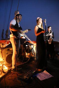 Agosto na Ría Marqués de Vizhoja, concierto de The Soul Breakers #festival #riadevigo