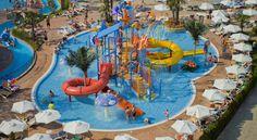 Evrika Beach Hotel - Sunny Beach, Bulgaria can't wait to stay here! New Travel, Travel And Leisure, Travel Info, Travel Tips, Honeymoon Destinations, Amazing Destinations, Beach Club, Aqua Resort, Egypt Tourism